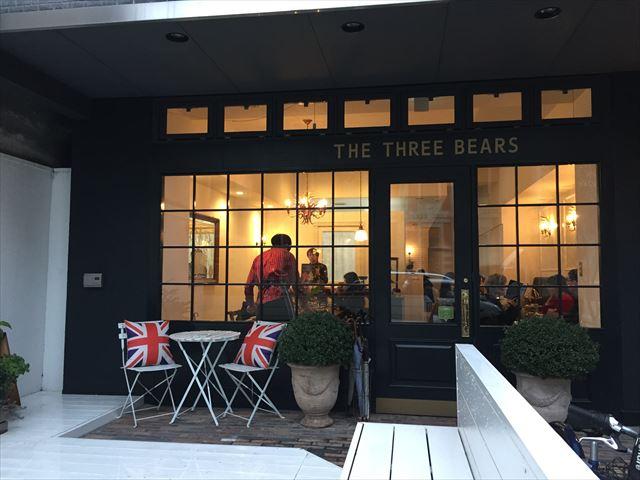 「スリーベアーズ」京都の中心でイギリス気分を味わえるカフェ♪