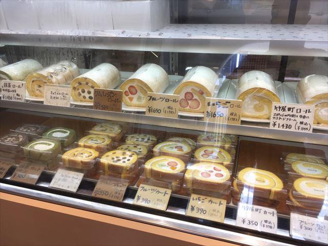 御所南にあるロールケーキ専門店「シュクル(sucre)」