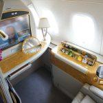 バンコク-香港間のエミレーツ航空ファーストクラスが廃止に…