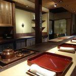 雰囲気あるカウンターで頂く日本料理【二条 即今】