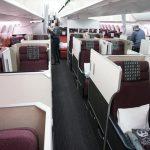 JALビジネスクラス搭乗記(ハノイ-成田)