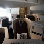【JALビジネスクラス搭乗記】スカイスイートIIIのシートを堪能!(羽田-シンガポール)