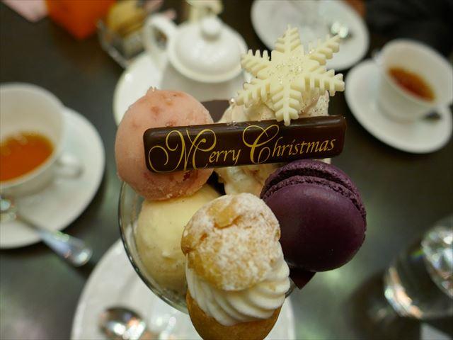 12月限定!京都ブライトンホテルのクリスマスパフェ☆