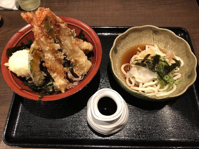 【米福】安くてボリュームのある天丼ランチ!