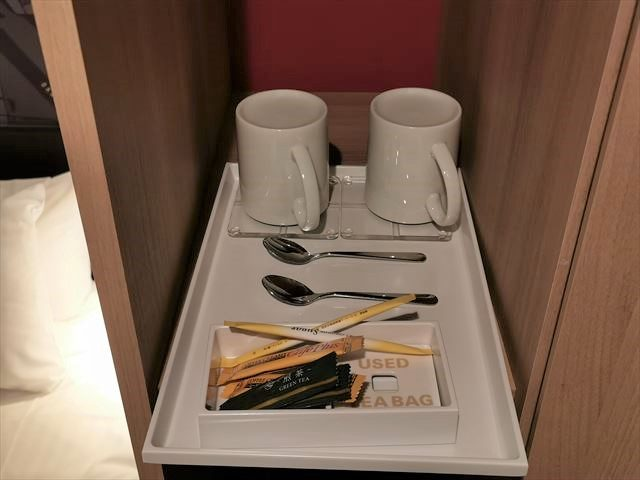 ホテルイビス大阪梅田の部屋の備品