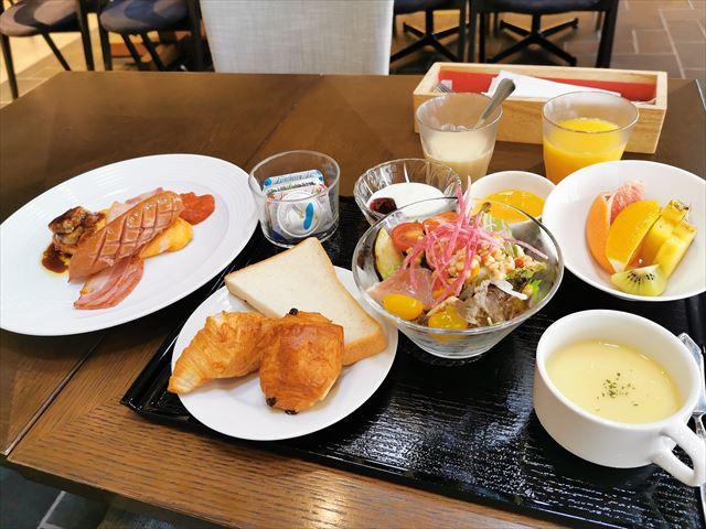 ホテルイビス大阪梅田の朝食