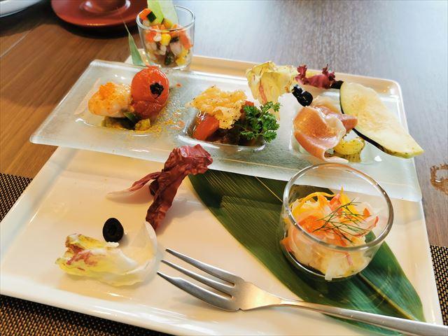 ロイヤルパークホテルアイコニック大阪御堂筋のランチ