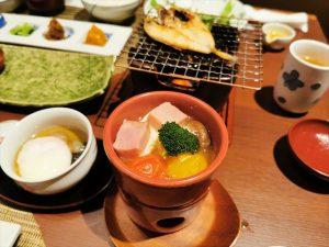 おごと温泉 湯元館の朝食