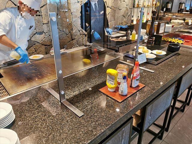 ダイワロイヤルホテルグランデ京都の朝食ビュッフェ