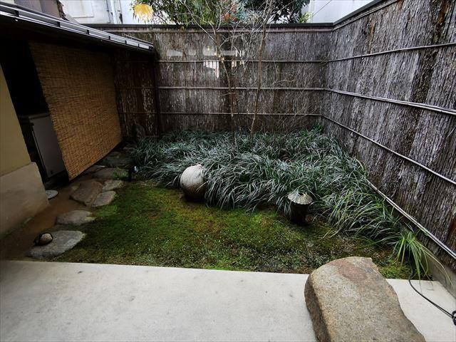 中村軒の坪庭