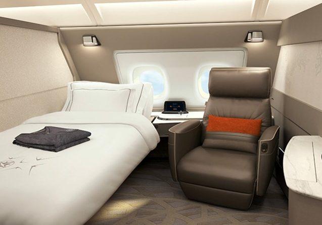 シンガポール航空の新型スイート
