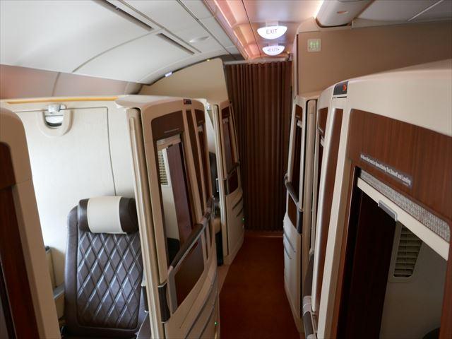 シンガポール航空スイートクラス