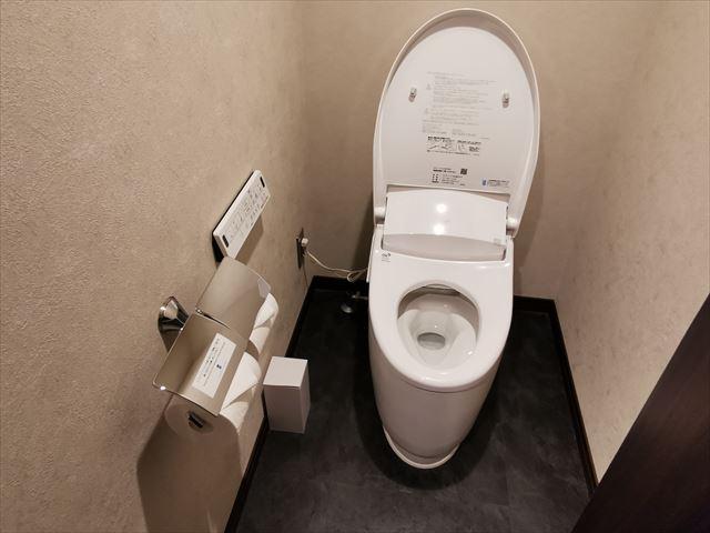 エスペリアホテル京都のトイレ
