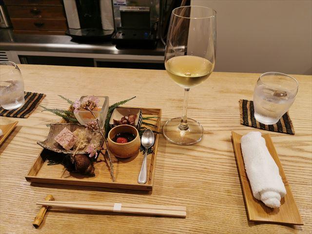 【レストラン幹】お箸で食べる!和と融合したフレンチのランチ