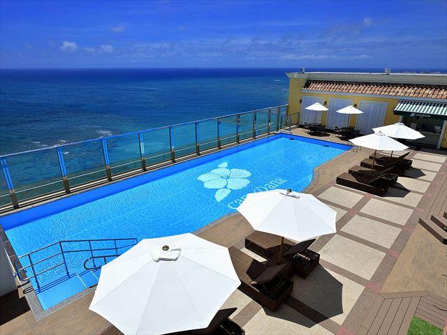 ベッセルホテルカンパーナ沖縄のプール_R