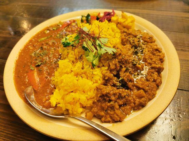 咖喱酒舗アムリタのカレー