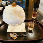 老舗の風格漂う「大極殿本舗六角店 栖園」で大人の梅酒かき氷を食す