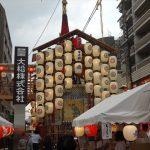 宵山を明日に控える祇園祭の山・鉾を見に行ってきました!