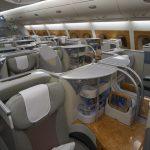 エミレーツ航空A380ビジネスクラス搭乗記(香港-バンコク)