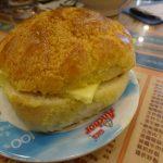 香港の朝は絶品パイナップルパンから【金華冰廳】