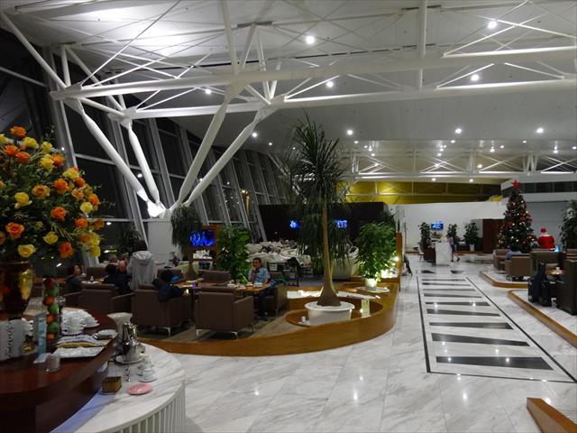ハノイ・ノイバイ空港のビジネスラウンジを利用