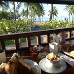 「ルルズワイキキ」で海を眺めながらのんびり朝食♪