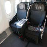 【JALビジネスクラス搭乗記】シェルフラットネオで成田から上海へ