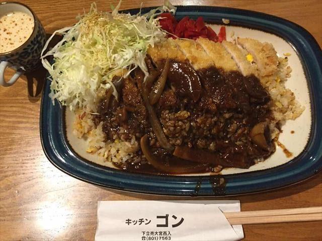 洋食店「キッチンゴン」の名物ピネライスを食べに行ってきました!