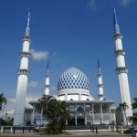 マレーシア最大のブルーモスクは本当に美しかった!!