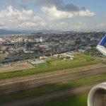 日本周遊旅行の最後はANA434便で福岡から名古屋へ