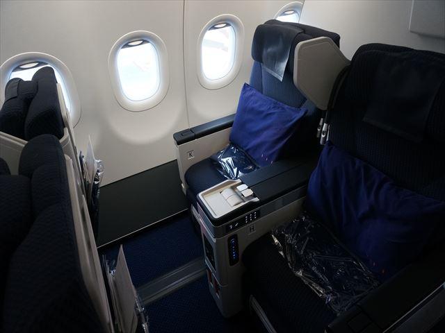 【ANAビジネスクラス搭乗記】国際線に投入されたばかりのA320-neoで関空から上海へ