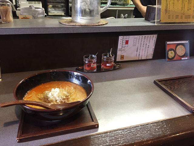 クリーミーなスープがやみつきになる「しもがも担々麺」