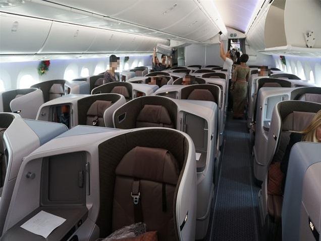 【シンガポール航空787-10ビジネスクラス搭乗記】新しい機材はやはり快適だった!