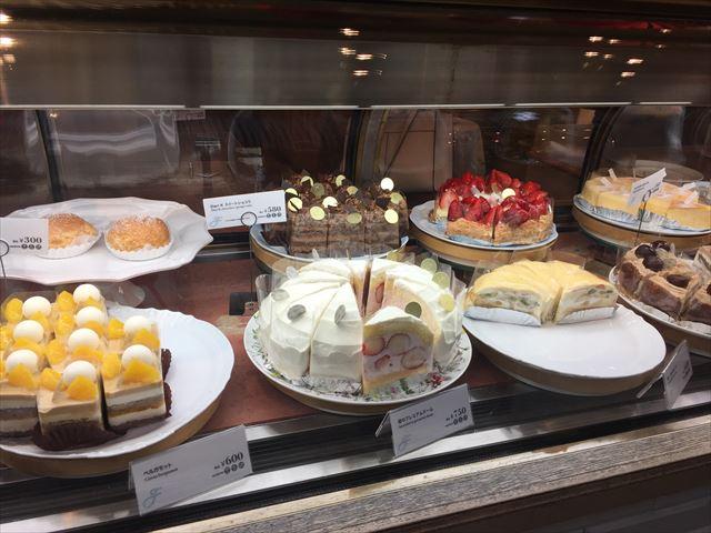 リプトン三条本店で美味しいケーキと紅茶のカフェタイム♪