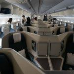 最新鋭!キャセイパシフィックA350-1000ビジネスクラス搭乗記(HKG-KIX)