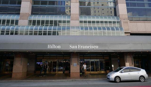 観光に便利なホテル「ヒルトン サンフランシスコ ユニオンスクエア」宿泊記