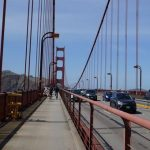 【サンフランシスコ観光】ゴールデンゲートブリッジをレンタサイクルで渡った!!