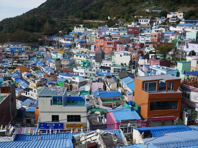【釜山】写真映えするカラフルな家並みを見に甘川文化村へ行ってきた!