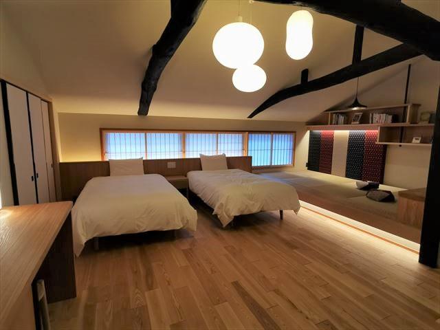 京の温所 麩屋町二条 寝室