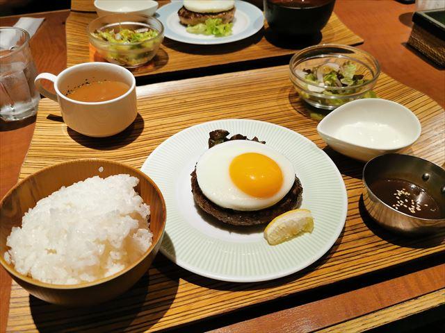 ハンバーグラボの京都ぽーくハンバーグ