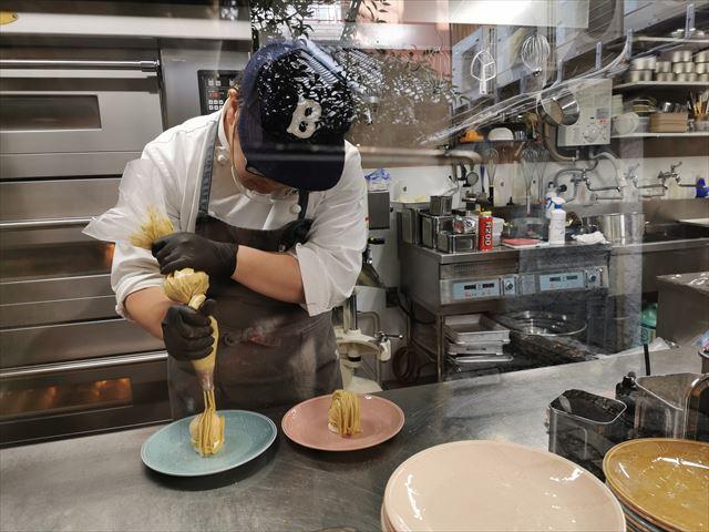 スイーツカフェ キョウトケイゾーの菓子工房