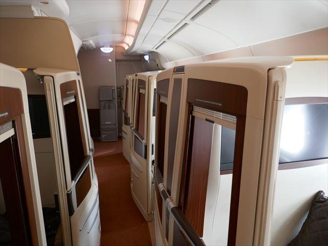 シンガポール航空スイートクラスのドリンクメニュー