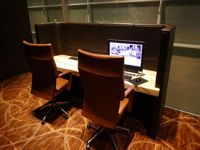 シンガポール空港のプライベートルーム