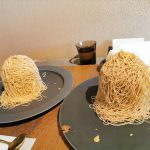 話題のお店「沙織」で2種類の極上モンブランを食べ比べ♪