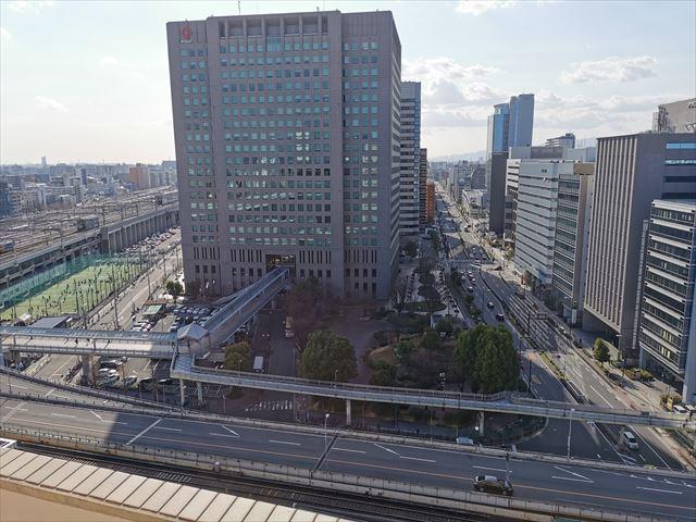 コートヤードバイマリオット新大阪ステーションの部屋からの眺め