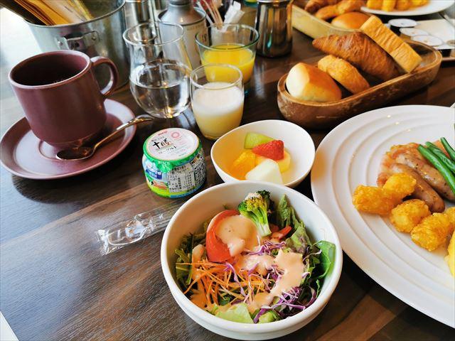 コートヤードバイマリオット新大阪ステーション 朝食