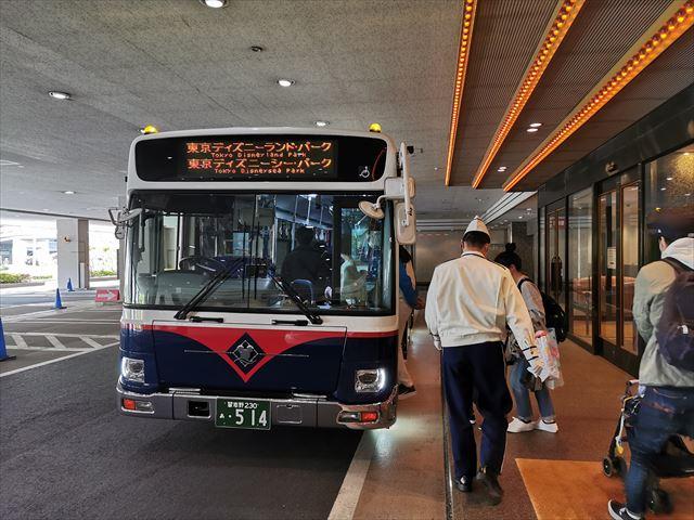 オリエンタルホテル東京ベイ 送迎バス