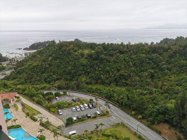 オキナワ マリオット リゾート&スパの部屋からの眺め