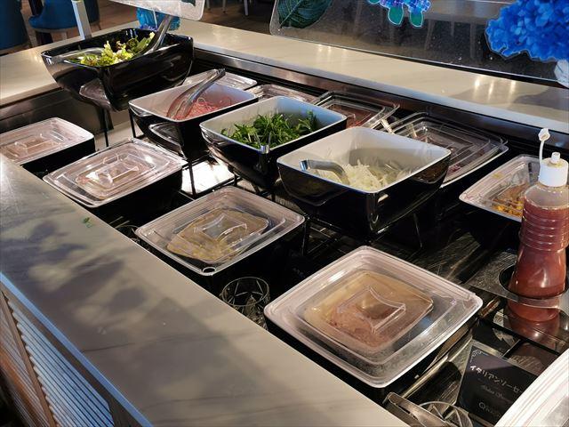 オキナワマリオットリゾート&スパの朝食ビュッフェ