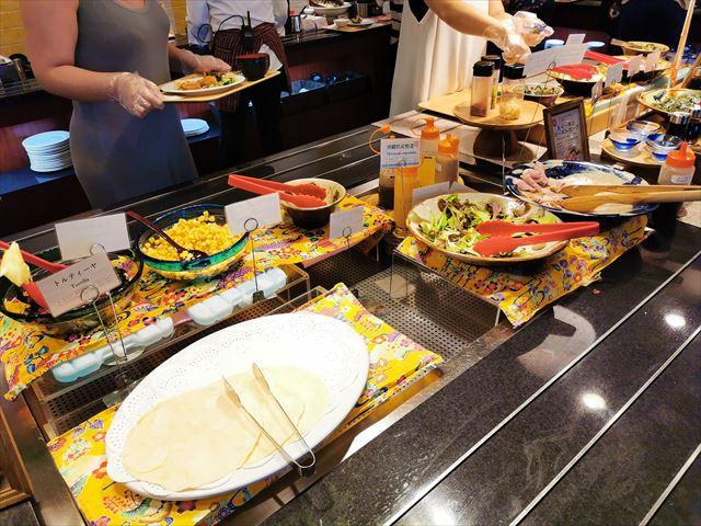 ベッセルホテルカンパーナ沖縄の朝食ビュッフェ